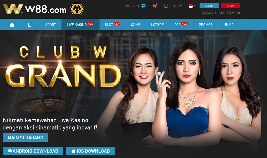Live Kasino W88 Indonesia