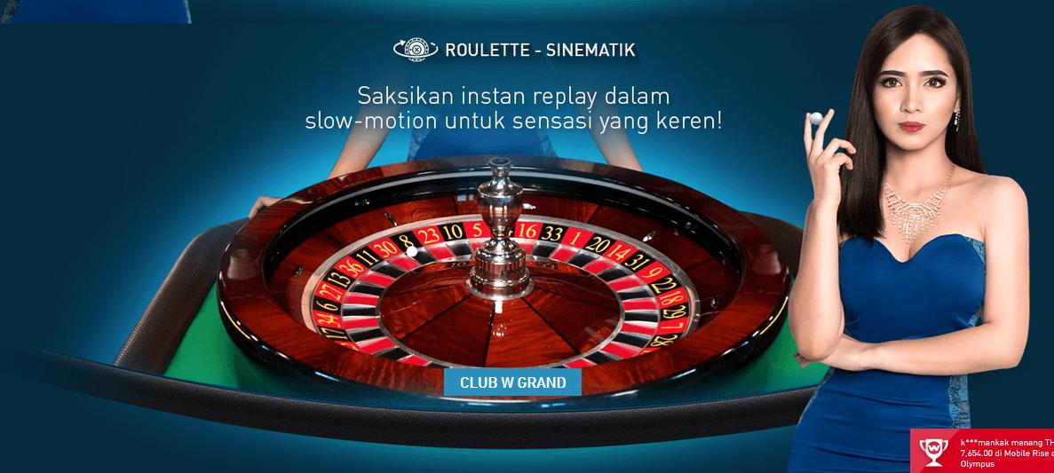 Menang Gampang Dengan Bermain Roulette di Online Kasino W88