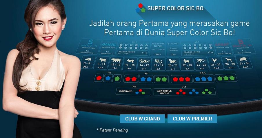 Permainan Dadu Seru Sic Bo di Live Kasino Online W88