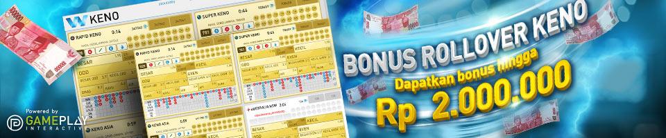 Bonus-Rollover-Keno-W88