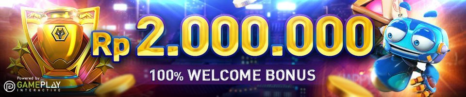 Welcome bonus untuk member baru Rp 2.000.000