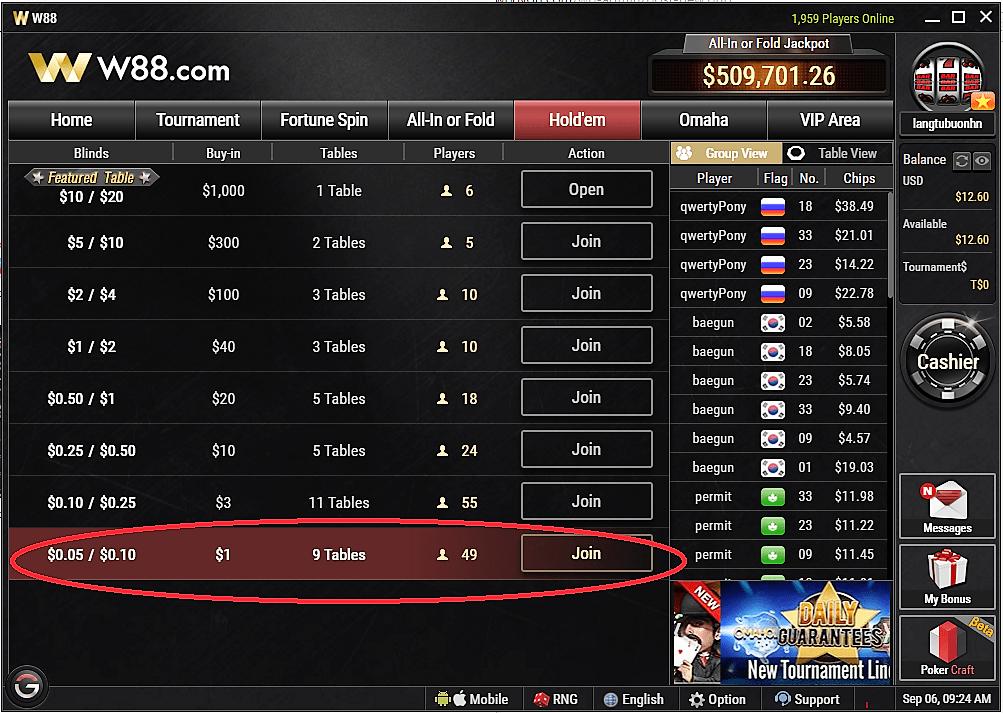 Bagaimana-Cara-Mengakses-Tabel-Hold'em-Poker