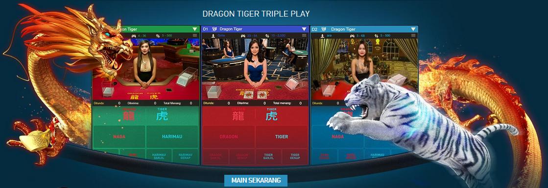 Dragon Tiger, Permainan Populer Yang Sangat Digemari di Kasino Online W88