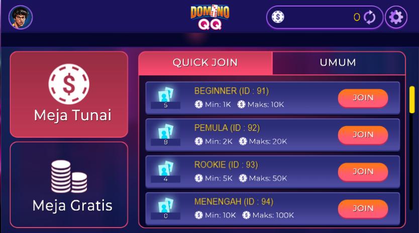 Pilihan-Jumlah-Buy-In-di-Domino-QQ