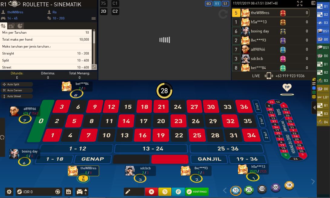 Menempatkan-taruhan-saat-Bermain-Roulette-Casino-di-W88