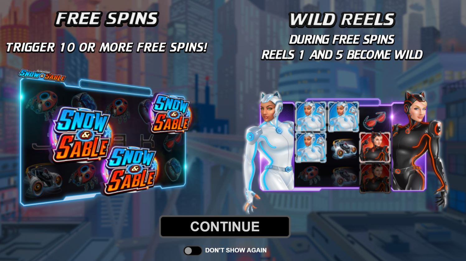 Free-Spin-Wild-Reels-Action-Ops-Snow-Sable