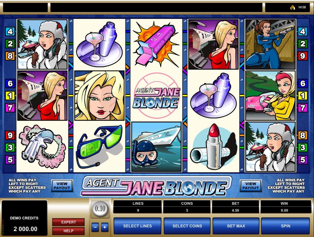 Fitur-Slot-Agent-Jane-Blonde-Bertemakan-Agen-Rahasia-Cantik