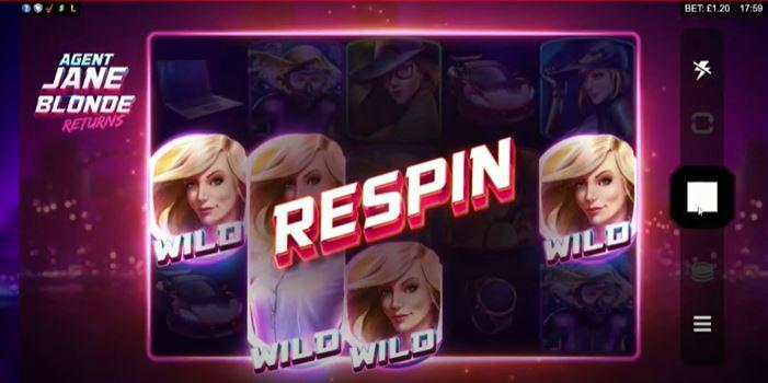 Fitur-Bonus-Respin-Baru-Ditawarkan-Agent-Jane-Blonde-Returns