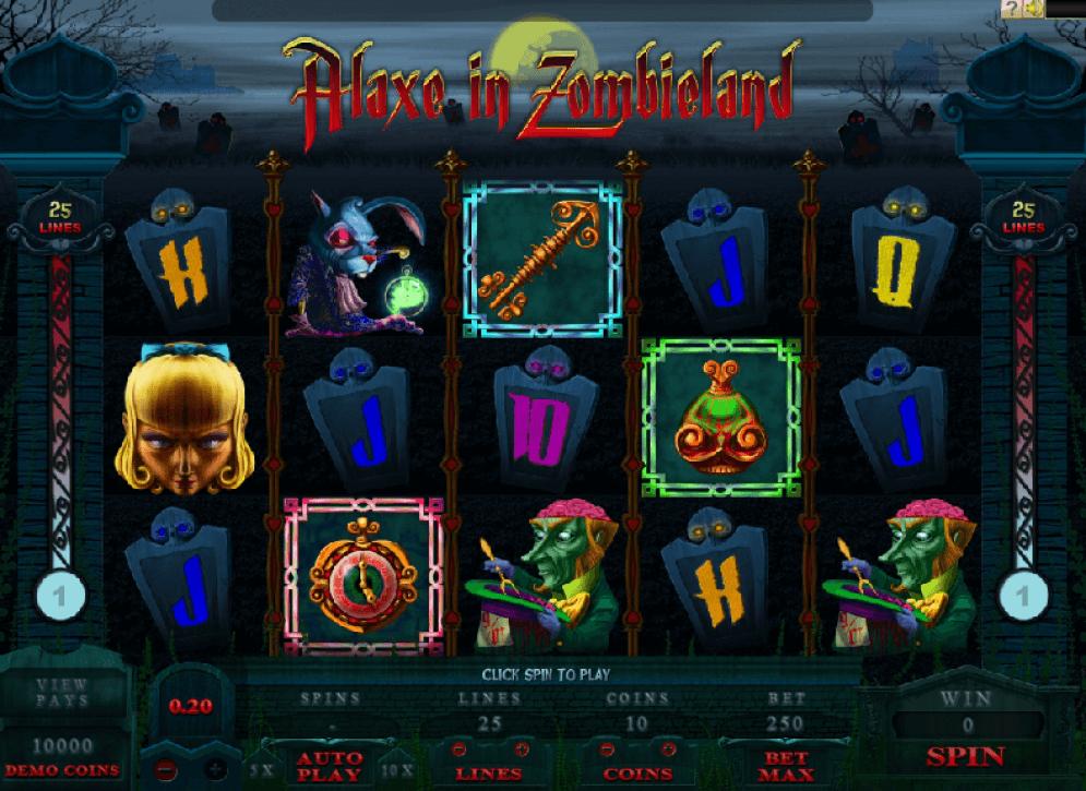 Hiburan-Game-Slot-Alaxe-in-Zombieland-dengan-Suasana-Unik-Menyeramkan