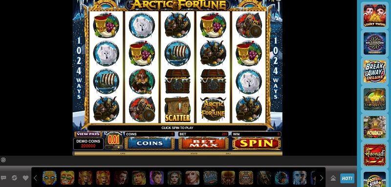 Kekuatan Pasukan Vikings Dalam Arctic Fortune