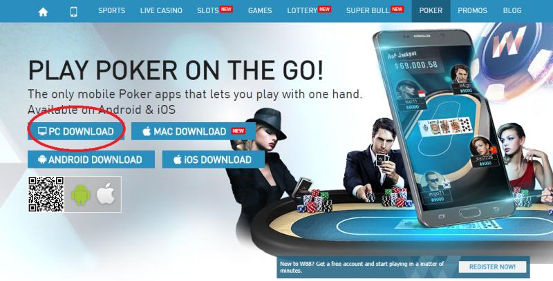 Apa Yang Saya Butuhkan Untuk Bermain Poker Online di W88?