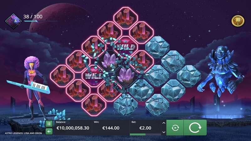 Fitur Bonus Permainan Astro Legends: Lyra and Erion