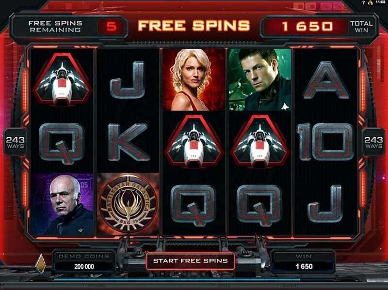Grafik Nyata Battlestar Galactica