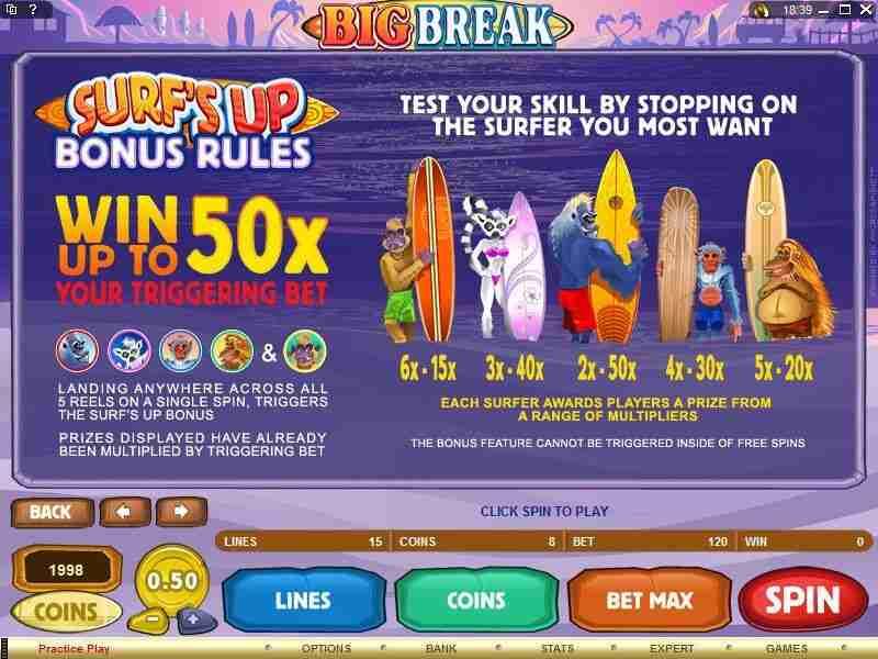 Fitur Bonus Big Break yang Menggiurkan